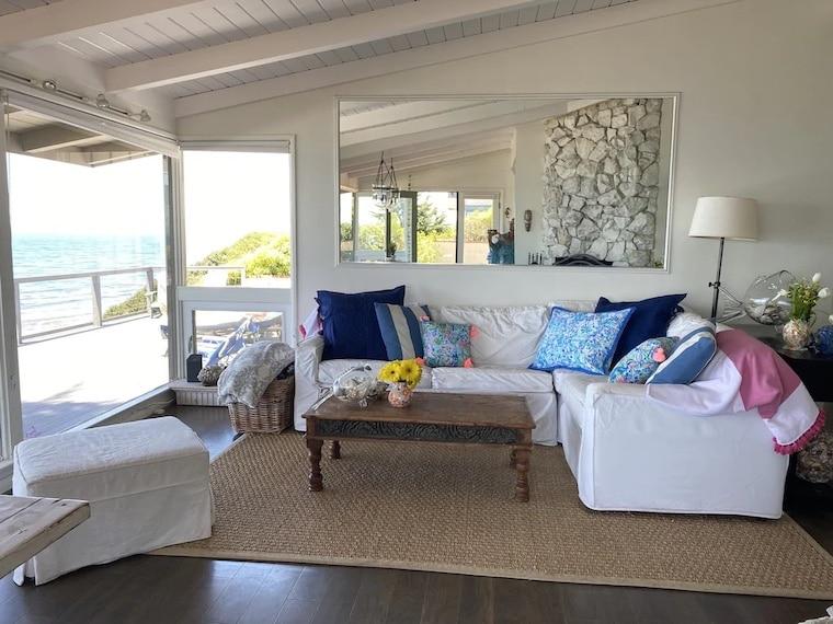 sunny beachfront cottage vrbo santa Barbara