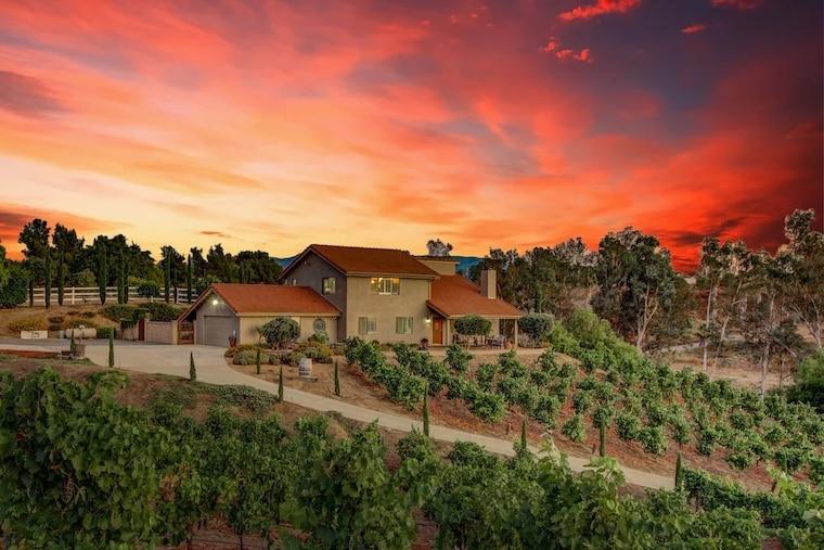 via vino vineyard estate temecula