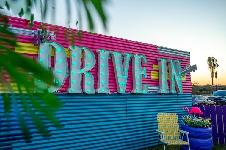 Rooftop Cinema Pop-up Drive-in