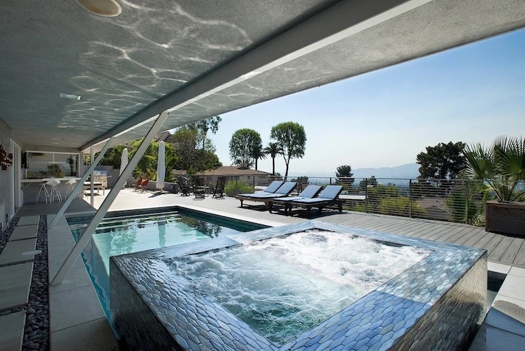 vrbo Hollywood home with amazing pool as seen on Bravo TV