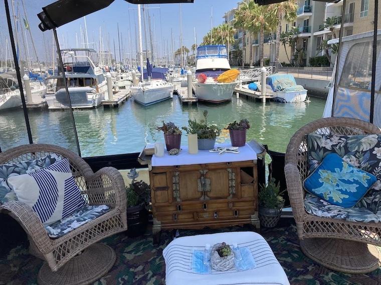 vrbo Yacht stay in Marina del Rey