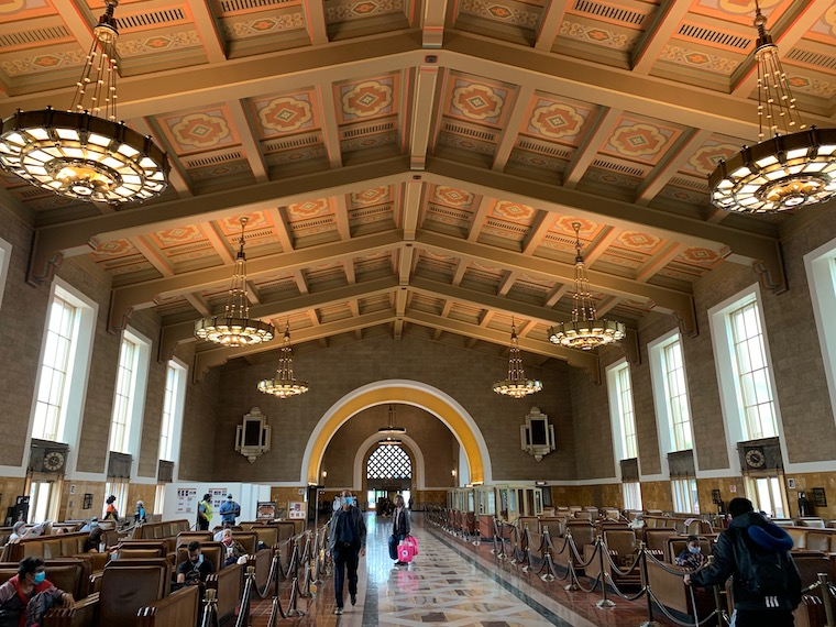 Inside the Great Hall at Union Station