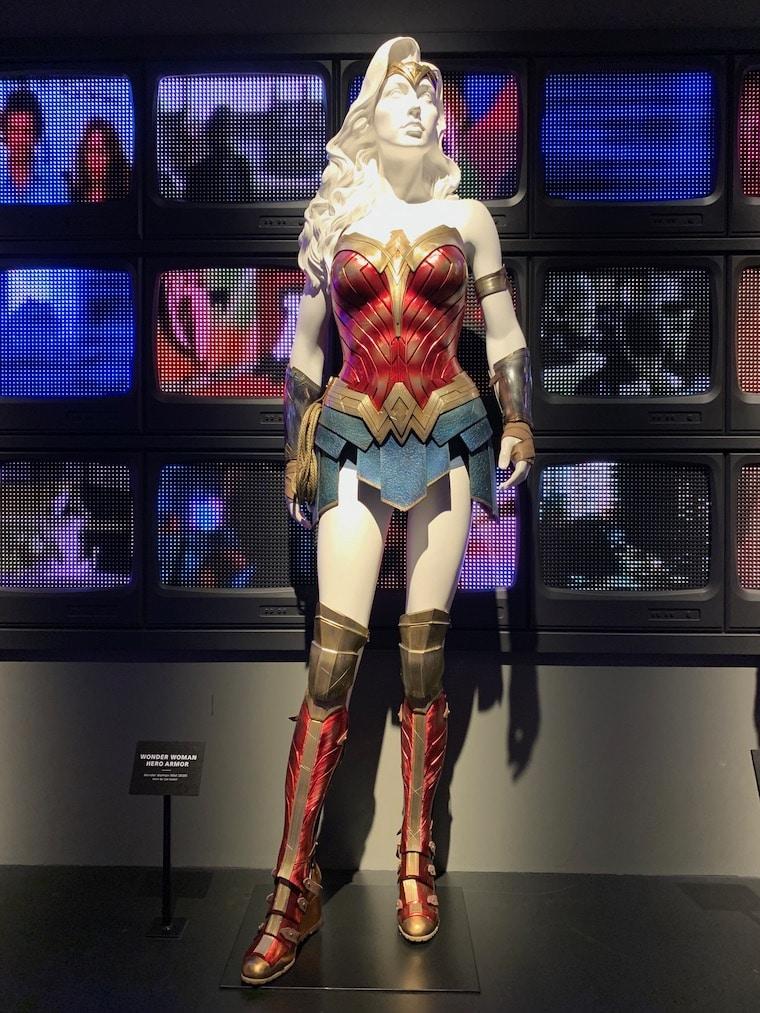 Wonder Woman costume once worn by Gal Gadot