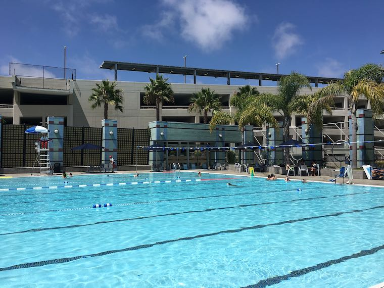 Santa Monica Swim Center at Santa Monica College