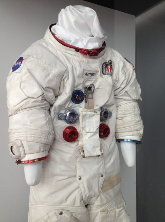 space suit at CA Science Center