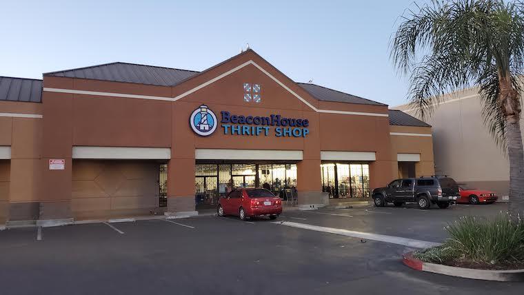 exterior of beacon house thrift shop